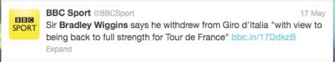 Wiggins full strength tour