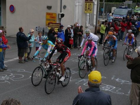 Tour de France 2010 ascent of Galibier (image: Richard Whatley)
