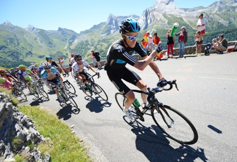 Chris Froome, TdF 2012, stage 16 (Image: http://www.petegodingphotography.com/)