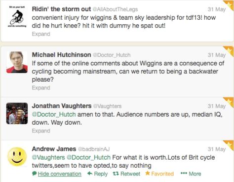 Wiggins audience numbers