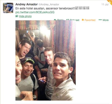 G Amador elevator