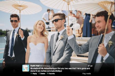 G Bernie's wedding