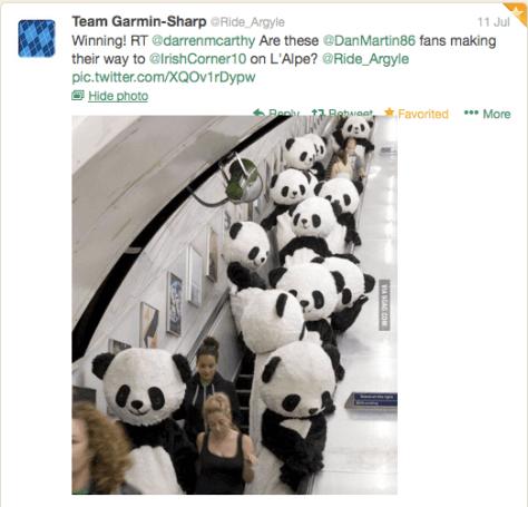 G Panda inforcements