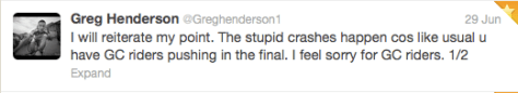 Henderson 1:2 stage