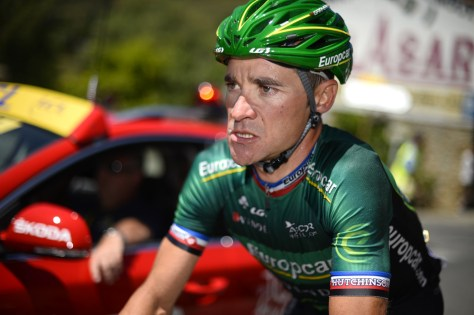 Voeckler pulling faces again! (Image: ASO)