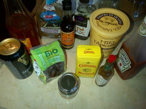 glaze ingredients (image: Sheree)