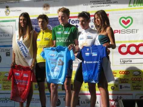 Clean sweep of the jerseys for Tao in Italy (image: British Cycling)