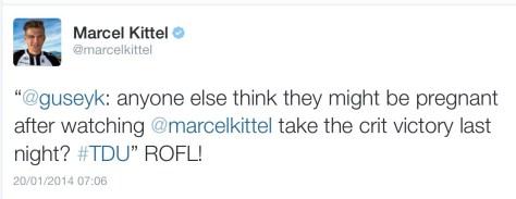 Kittel pregnant
