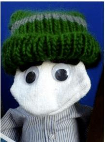 Sock puppet Sagan