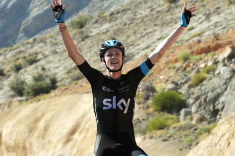 Froome conquers Green Mountain (Image: Tour of Oman)
