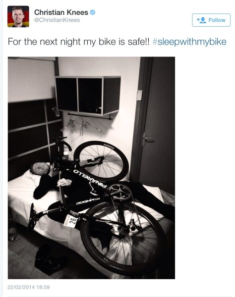Sky Pinarello bed