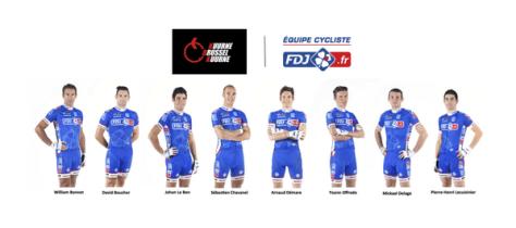 Team for Kuurne-Brussels-Kuurne (image: FDJ)