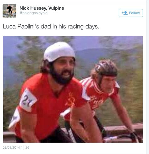 Luca Paolini dad