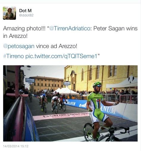Sagan win