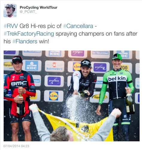 RVV Fabs wins podium