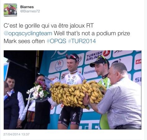 G Cav bananas