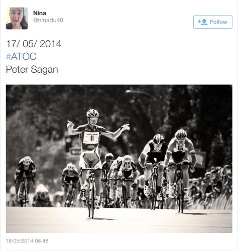 Cali Sagan win