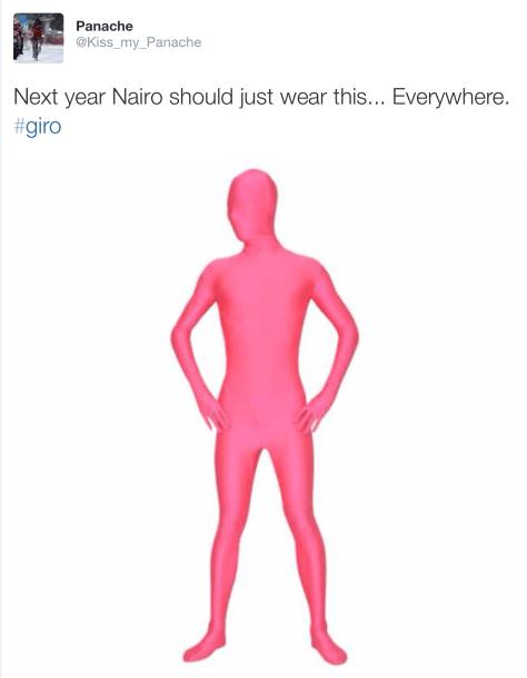 Giro Quintana pink suit