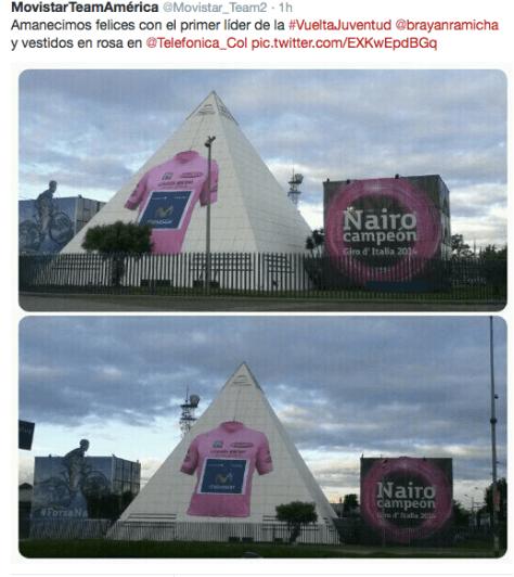 Giro Quintana pyramid