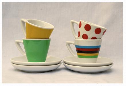 Coffee & Cols TdF espresso cups