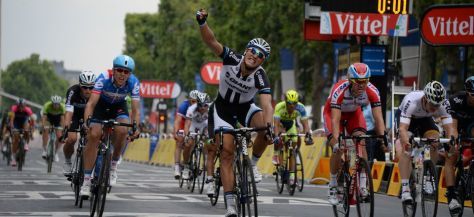 Victory in Paris meant Kittel finished with four wins, just as he did in 2013 (Image: ASO)
