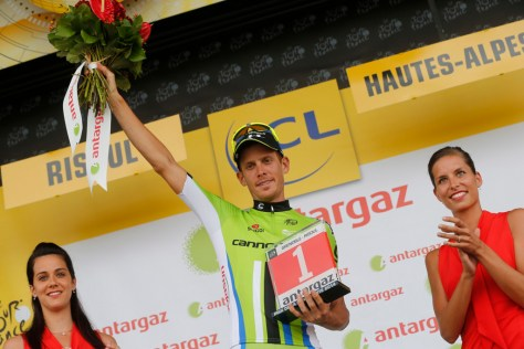 Alessandro De Marchi has made up for missing out on a stage win at the Tour de France (Image: Cannondale)