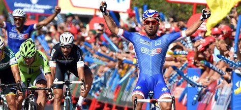 Bouhanni is controversial, but he's also fast (Image: Vuelta website)