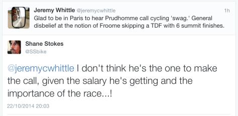 TdF Froome tweet 4