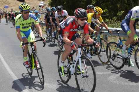Evans mixed it with the big guns right to the end (Image: Regallo)
