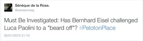 Bernie beard 5