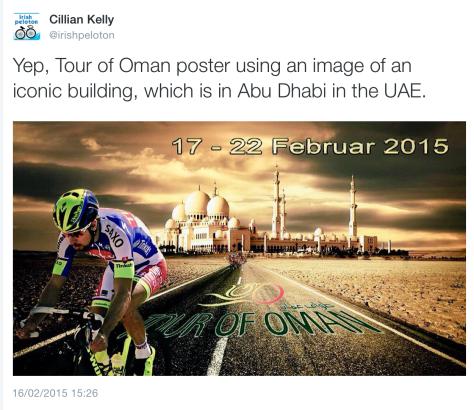 G Tour of Oman
