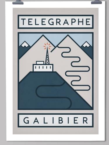Handmade cyclist Telegraph Galibier 1