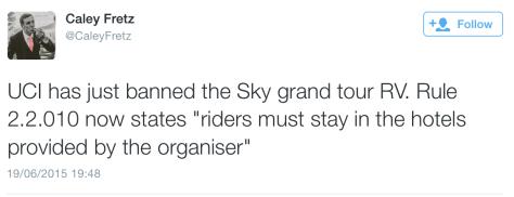 Sky RV ban rule 1
