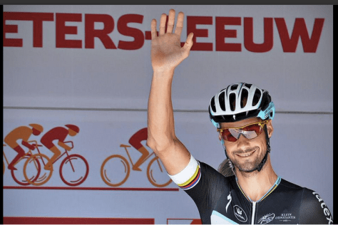 Boonen had a great Eneco and nearly made the podium for Vattenfall