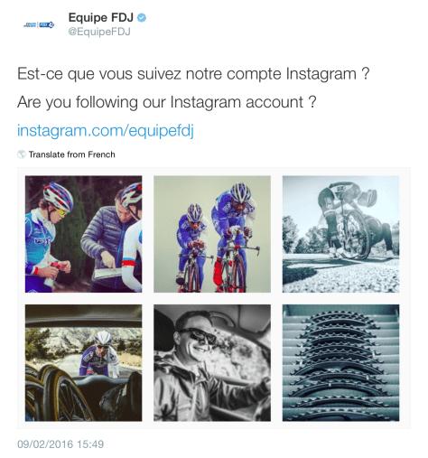 G FDJ instagram