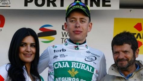 Best young rider: Hugh Carthy (image: Gomez Sport)