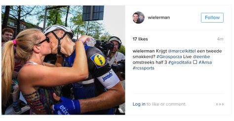 Giro Kittel kiss