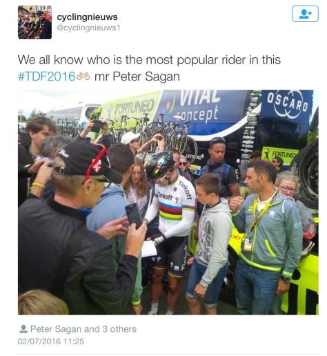 Sagan popular
