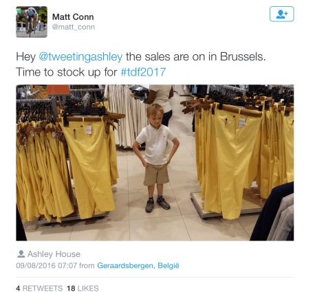 G yellow pants