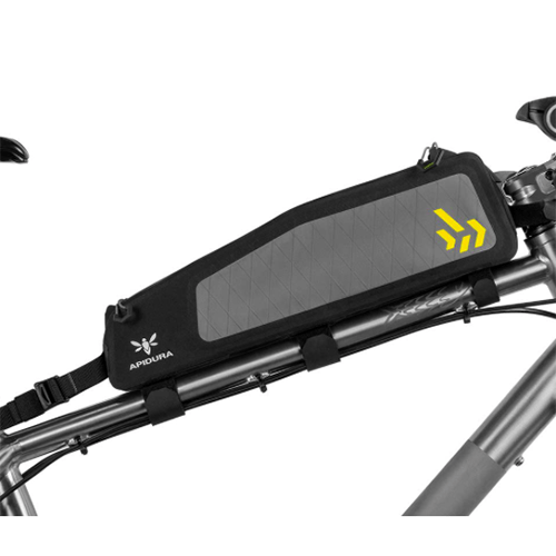 Backcountry long top tube pack