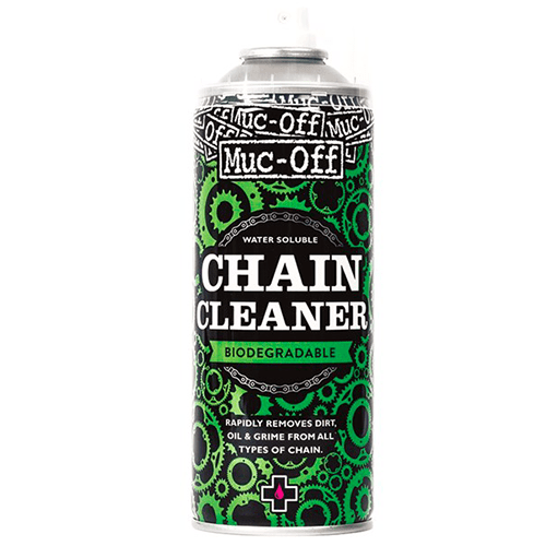 Muc of chain cleaner