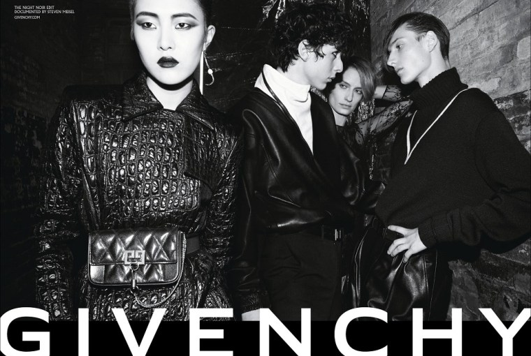 Givenchy Unveils The 'Night Noir' AW 18 Campaign