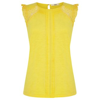 oasis pleated top
