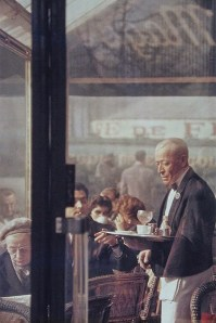 Waiter, Paris, 1959