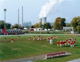 Poca High School and Amos Coal Power Plant, West Virginia, 2004