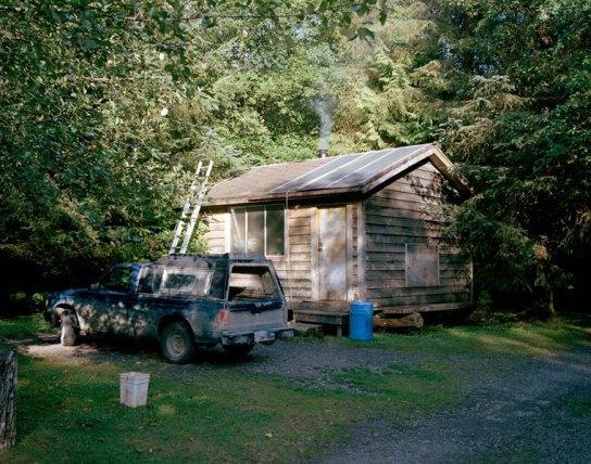 Doug's cabin, 2010