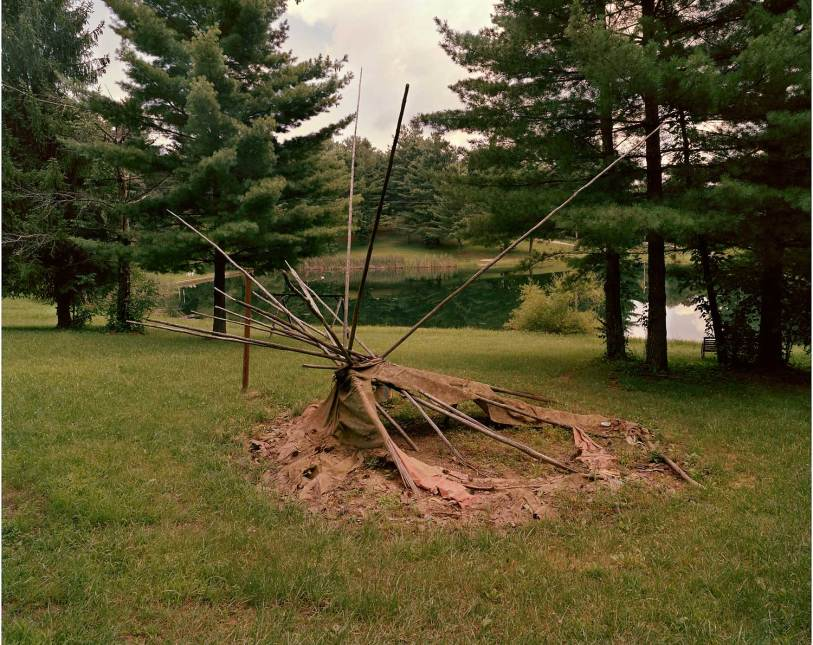 Teepee, Indian Mound Campground, New Marshfield, OH