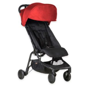Mountain Buggy Nano Travel Stroller - Rent a cabin stroller for your vacation with Velvetgear