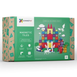 Connetix tiles 100 piece set, available for rental or purchase from Velvetgear Singapore