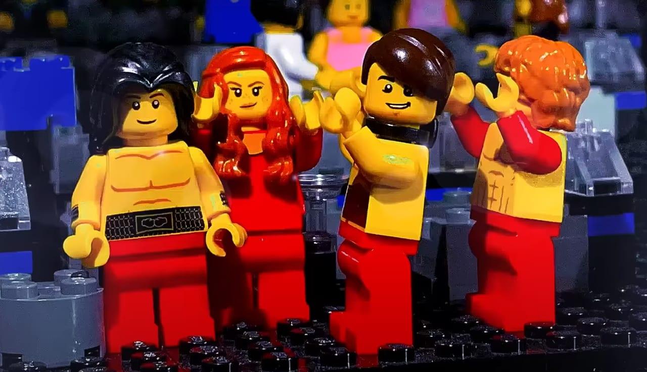 Eurovision 2021: i Maneskin diventano Lego in un [VIDEO] celebrativo